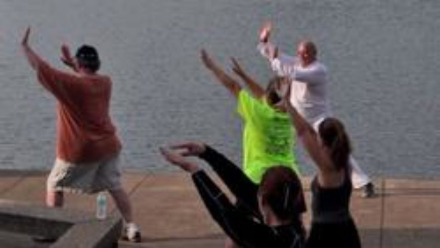 Get Your Zen On: Tai Chi by the Lake